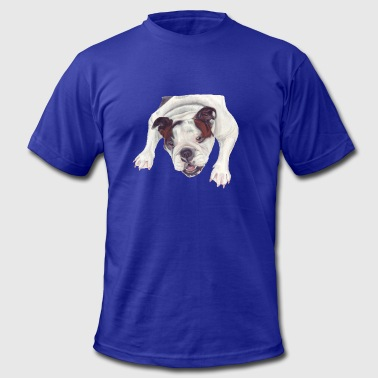 Bulldogs Draw Bulldog - Men's Fine Jersey T-Shirt