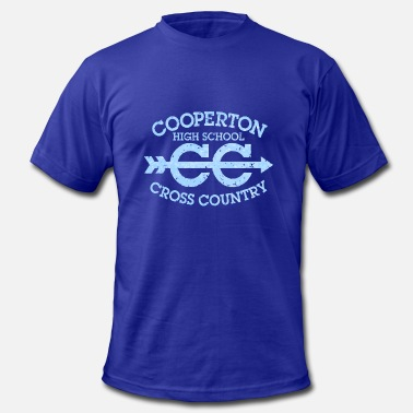 Cc Cross Country Cooperton High School CC Cross Country - Men's Fine Jersey T-Shirt