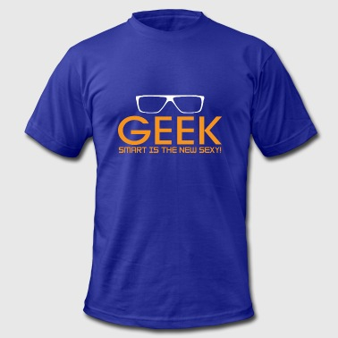 Geek Smart Is The New Sexy - Men's Fine Jersey T-Shirt