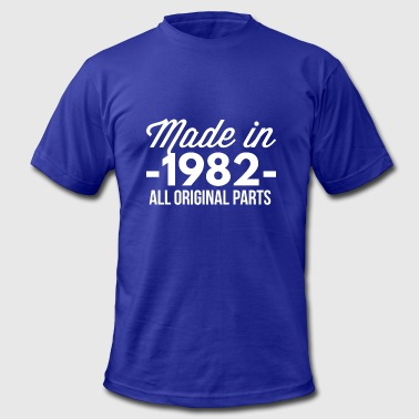 Made in 1982 all original parts - Men's Fine Jersey T-Shirt