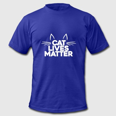 Cat Lives Matter T-Shirts - Men's Fine Jersey T-Shirt