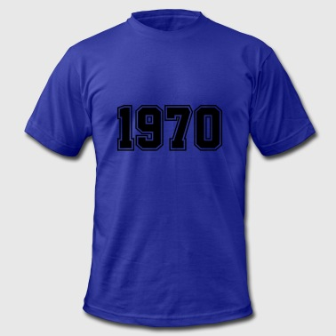 1970 | Year of Birth | Birth Year | Birthday - Men's Fine Jersey T-Shirt
