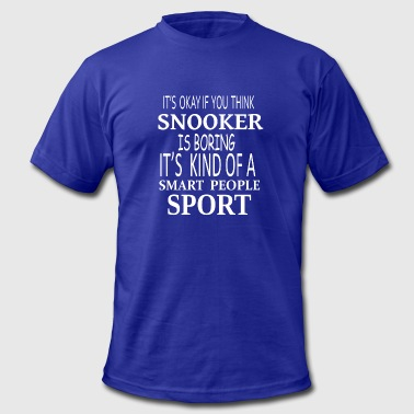 Snooker Smart Sport- cool shirt,geek hoodie,tank - Men's Fine Jersey T-Shirt