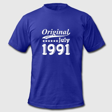 Original Since July 1991 Gift - Men's Fine Jersey T-Shirt