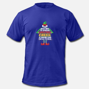 Sing Movie Awesome Elf Christmas Cheer Singing Loud Movie - Men's  Jersey T-Shirt