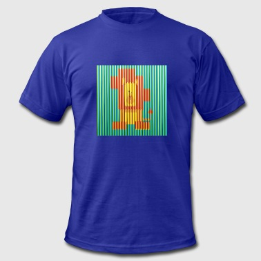 Cruz Lion Artwork Carlos Cruz Diez - Men's Fine Jersey T-Shirt
