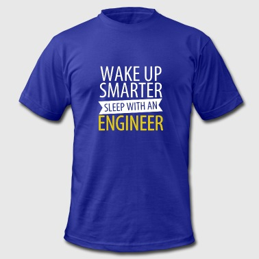 Sleep With An Engineer Sleep With An Engineer Shirt - Men's Fine Jersey T-Shirt
