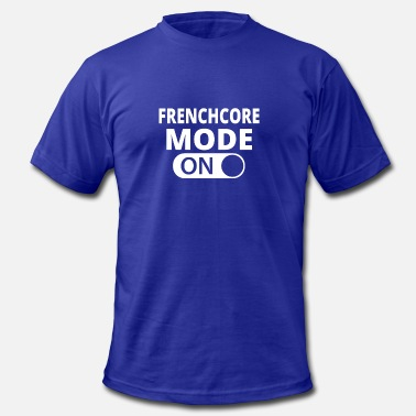 Frenchcore MODE ON FRENCHCORE - Men's Fine Jersey T-Shirt