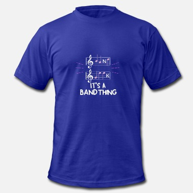 Band Geek Orchestra MUSIC: Band Geek - It's A Band Thing - Men's  Jersey T-Shirt
