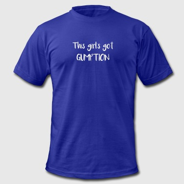 Girl Boss This Girls Got Gumption Southern Saying - Men's Fine Jersey T-Shirt