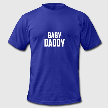 Festive Baby Baby Daddy - Men's Fine Jersey T-Shirt