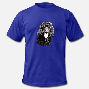 Poodle Gift Poodle - Poodle Christmas Gifts - Men's  Jersey T-Shirt