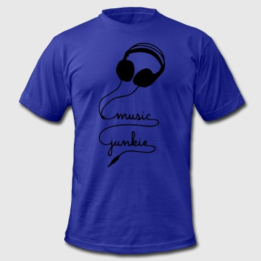 Music Junkie MUSIC JUNKIE - Men's Fine Jersey T-Shirt