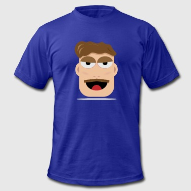 Drunk Face Drunk - Men's Fine Jersey T-Shirt