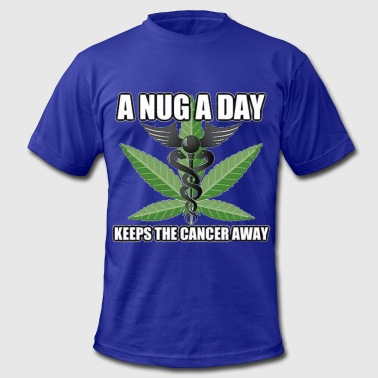 nug a day - Men's Fine Jersey T-Shirt