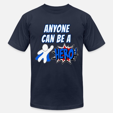 We Can Hero #2 - Men's  Jersey T-Shirt