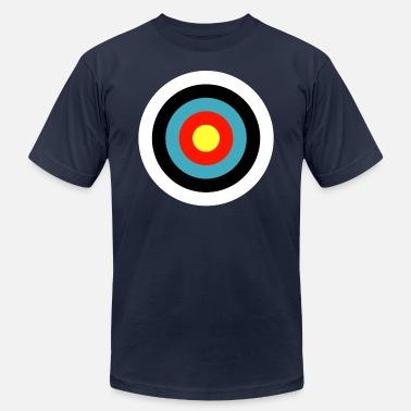 4156b5bed03 Archery Bullseye Bullseye Archery Target Shooter Rings - Men  39 s Jersey T-.  Men s Jersey T-Shirt