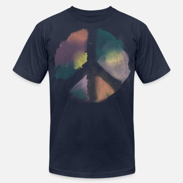 Peace Watercolor Peace - Unisex Jersey T-Shirt