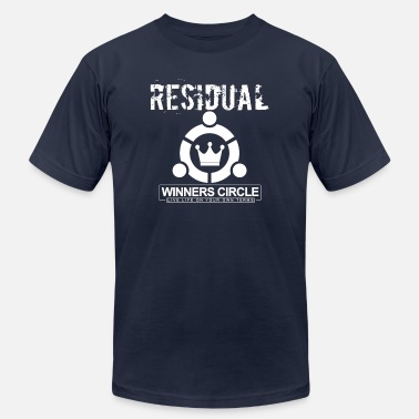 Income RESIDUAL WINNER'S CIRCLE - Men's Jersey T-Shirt