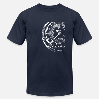 Print Manhole Cover Berlin, Germany - Unisex Jersey T-Shirt