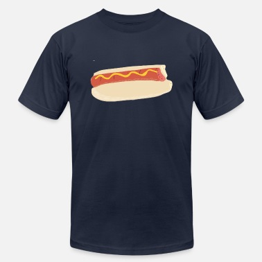 Appetizer Beautiful Hot Dog - Men's  Jersey T-Shirt