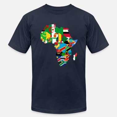 Continent United Africa - Proud Africans - Africa Alliance - Men's  Jersey T-Shirt