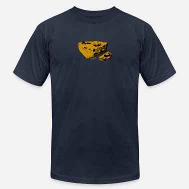 Cheesy Cheesy Block - Cheesy - Unisex Jersey T-Shirt