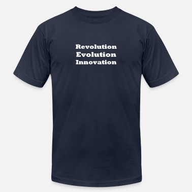 Brainchild Revolution Evolution Innovation - Men's  Jersey T-Shirt
