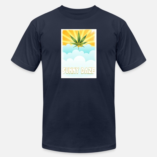Marijuana T-Shirts - sunrise-153600_1280_1485311348566 - Men's Jersey T-Shirt navy
