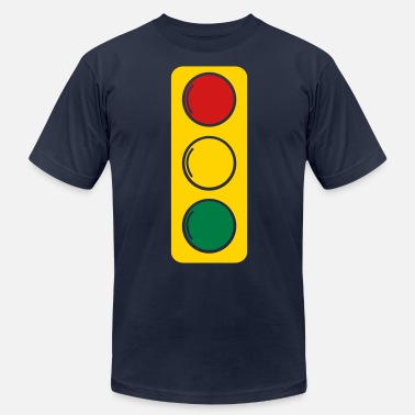 Traffic Light traffic lights red amber and green - Unisex Jersey T-Shirt