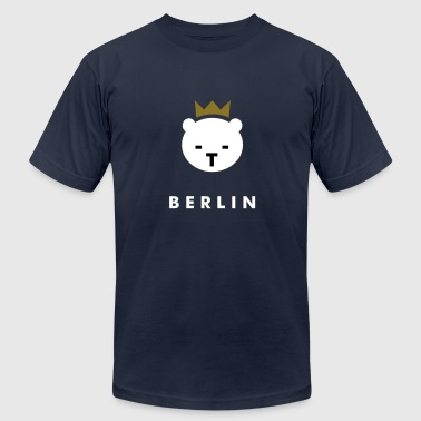 Berlin Bear - Men's Fine Jersey T-Shirt