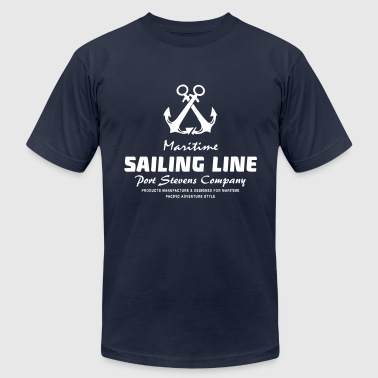 Maritime Anchor - Men's Fine Jersey T-Shirt