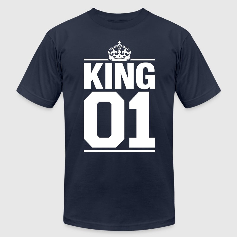 King 01 - Men's Fine Jersey T-Shirt