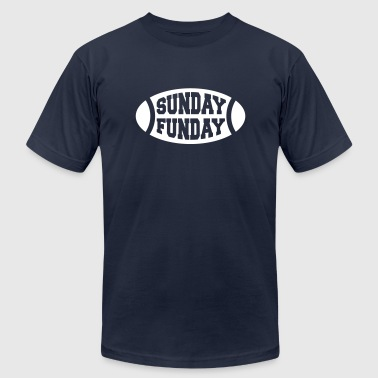 Sunday Funday Football - Men's Fine Jersey T-Shirt