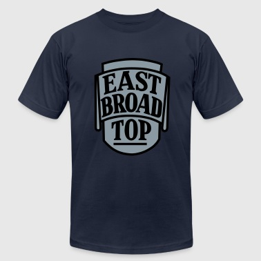 East Broad Top - 2 color - Men's Fine Jersey T-Shirt
