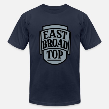 Narrow Gauge East Broad Top - 2 color - Men's Jersey T-Shirt