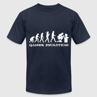 Gamer Evolution - Men's Fine Jersey T-Shirt