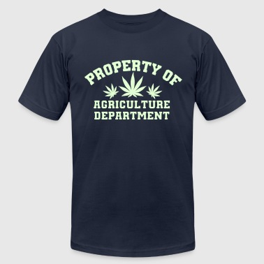 Agricultural Agriculture Department - Men's Fine Jersey T-Shirt