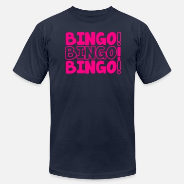 Bingo BINGO! BINGO! BINGO! party shirt - Men's Fine Jersey T-Shirt