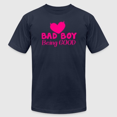 BAD BOY- being GOOD! - Men's Fine Jersey T-Shirt
