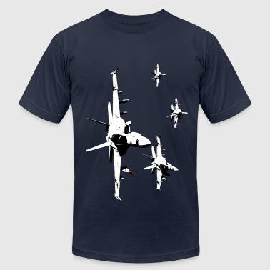 F18 Fighter Jets - Men's Fine Jersey T-Shirt