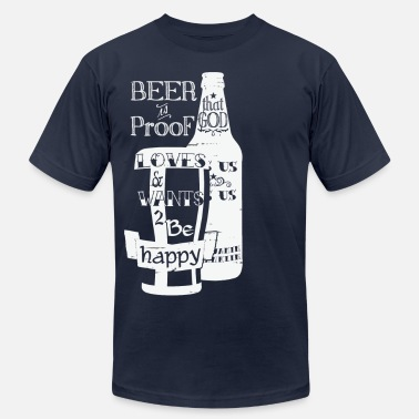 Proof Beer is Proof - Men's  Jersey T-Shirt