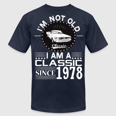 Built In 1978 Classic since 1978 - Men's Fine Jersey T-Shirt