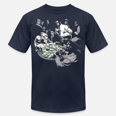 Gangster paid in full - Men's  Jersey T-Shirt
