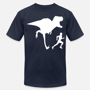 Color Change T-REX  CHANGE COLORS - Men's  Jersey T-Shirt