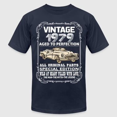 VINTAGE 1979-AGED TO PERFECTION - Men's Fine Jersey T-Shirt