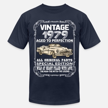 1979 Aged To Perfection VINTAGE 1979-AGED TO PERFECTION - Men's  Jersey T-Shirt