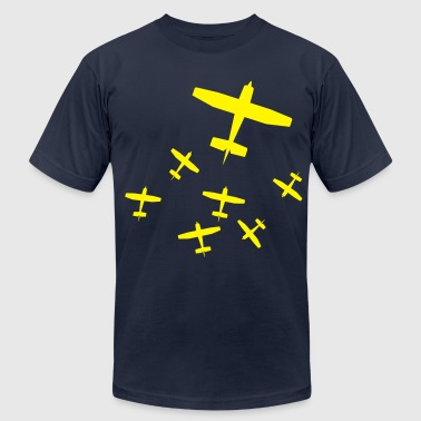 airplanes - Men's Fine Jersey T-Shirt