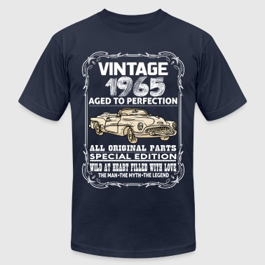 VINTAGE 1965-AGED TO PERFECTION - Men's Fine Jersey T-Shirt