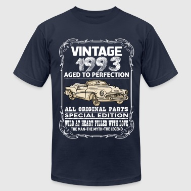 VINTAGE 1993-AGED TO PERFECTION - Men's Fine Jersey T-Shirt